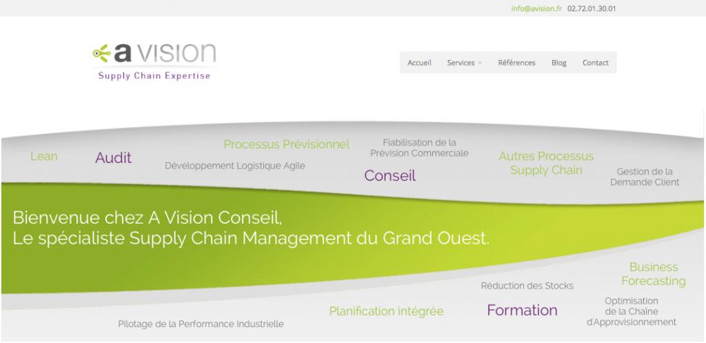 Nouveau site Avision.fr
