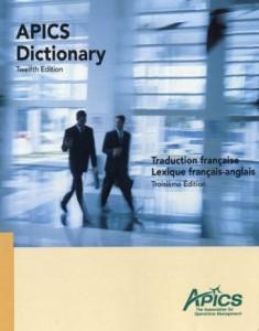 Dictionnaire APICS en FrançaisDictionnaire APICS en Français